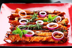 Shashlik Foto de Stock