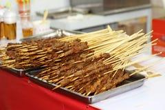 Το πρόβειο κρέας shashlik Στοκ εικόνα με δικαίωμα ελεύθερης χρήσης