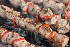 Shashlik Royalty Free Stock Photo
