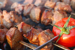 Shashlik Royalty Free Stock Images