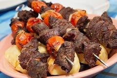Shashlik beef Stock Images
