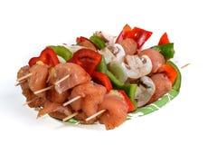 shashlik de viande Photo stock