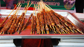 Shashlik,looks very delicious. In the food festival Stock Images