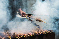 Shashlik Stock Photography
