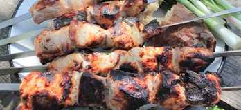 Shashlik. Stock Photo