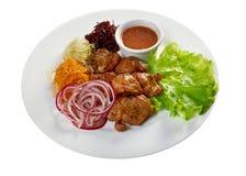 Shashlik (shish kebab) Stock Images