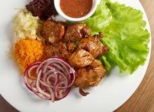 Shashlik (shish kebab) Royalty Free Stock Image