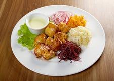 Shashlik (shish kebab) Stock Photography