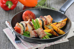 Shashlik skewer Royalty Free Stock Photos