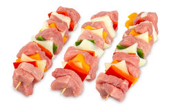 Shashlik sticks Stock Photography