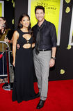 Shasi Wells and Dylan McDermott Stock Photo