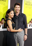 Shasi Wells and Dylan McDermott Royalty Free Stock Photography