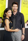 Shasi Wells and Dylan McDermott Stock Image