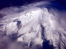 Shasta From Above Royalty Free Stock Image