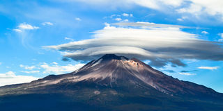 Shasta clouds Stock Image