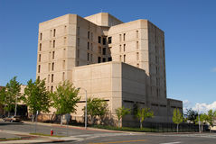 Shasta County Jail Stock Image