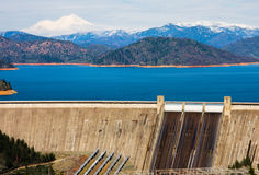Shasta Dam Royalty Free Stock Photography