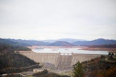 Shasta Dam in redding Stock Photography