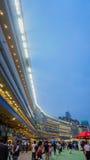 Shatin, Hong Kong - May 2017 : HOng Kong Jockey club stadium for royalty free stock photos