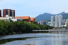 Shatin, Hong Kong. Shatin, a new town in Hong Kong Stock Image