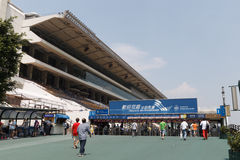 Shatin Racecourse in Hong Kong Stock Photography