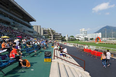Shatin Racecourse in Hong Kong Royalty Free Stock Photos
