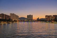 Shatin Sing Mun River Royalty Free Stock Photos