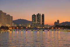 Shatin Sing Mun River Stock Photo