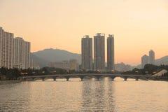 Shatin Sing Mun River Royalty Free Stock Photo