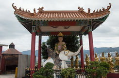 Shatin Temple, Hong Kong stock photos