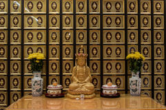 Shatin Temple, Hong Kong royalty free stock photos