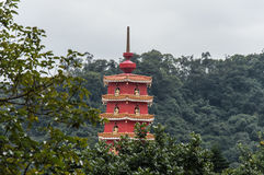 Shatin Temple, Hong Kong royalty free stock photo