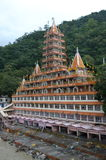 Shatrughan Temple In Rishikesh. Royalty Free Stock Photography
