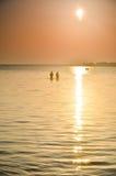 Shatsky sjöar, rent vatten, Ukraina Royaltyfri Foto