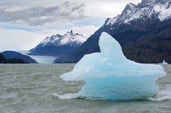 Shatter of iceberg Stock Photography