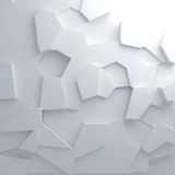 Shatter pattern abstract background Royalty Free Stock Image