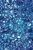 Shattered blue glass mosaic pattern texture fracture background design. High quality, ready for print royalty free illustration