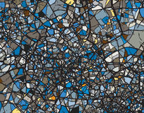 Shattered blues Royalty Free Stock Photo