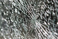 Shattered Glass Stock Photography