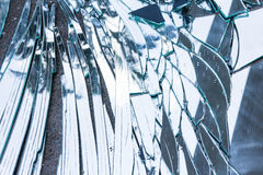 Shattered Glass Royalty Free Stock Images