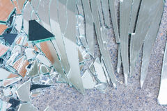 Shattered Glass Royalty Free Stock Photo