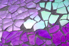 Shattered Glass Mosaic Royalty Free Stock Photo
