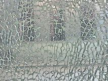Shattered Glass. Producing a crazed pattern stock image