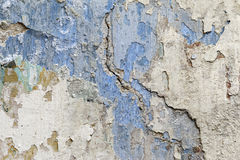 Shattered plaster - grunge texture Royalty Free Stock Image