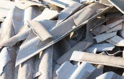 Shattered slate Stock Photos