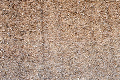 Shattered straw - silage Stock Image