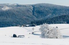 Shauinsland in de winter Royalty-vrije Stock Foto's