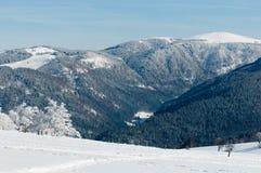 Shauinsland no inverno imagem de stock royalty free