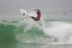 Shaun Joubert (ZAF) in ASP World Qualifier Royalty Free Stock Photos