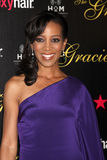 Shaun Robinson arrives at the 37th Annual Gracie Awards Gala Stock Photo
